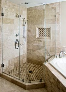 Shower Door Cleaning Services Offered By ShinePro Window Cleaning - Bathroom steam cleaning service